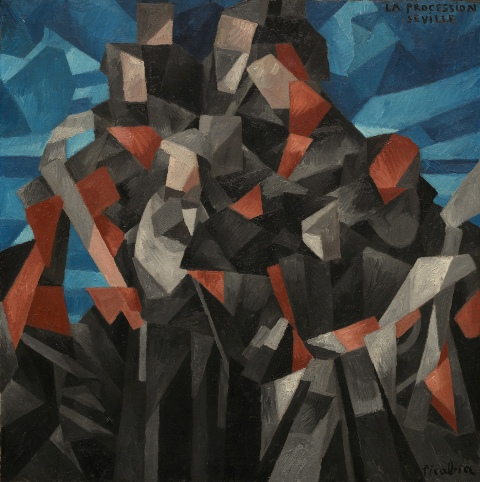 04_Francis_Picabia_La_processione_Siviglia_1912_ Washington_National_Gallery_of_Art