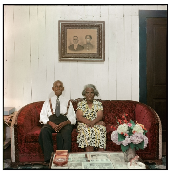 7_Albert Thornton e sua moglie,Mobile, Alabama, 1956 - Copia