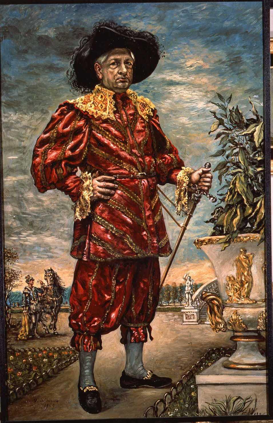Autoritratto_in_costume_del_'600_1959_Fondazione_Giorgio_e_Isa_de_Chirico