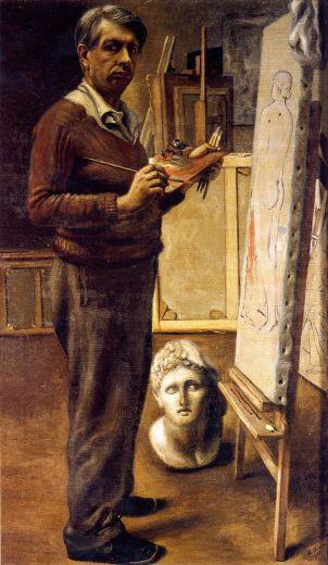Autoritratto_nello_studio_di_Parigi_1934_GNAM