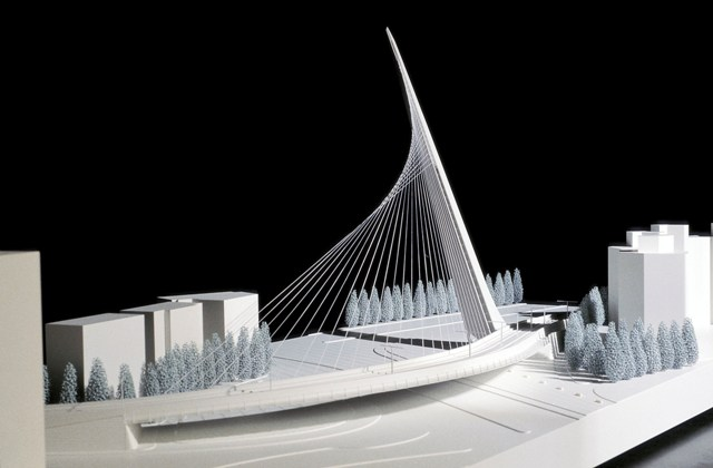 Calatrava_Jerusalem Light Rail Bridge_© Santiago Calatrava