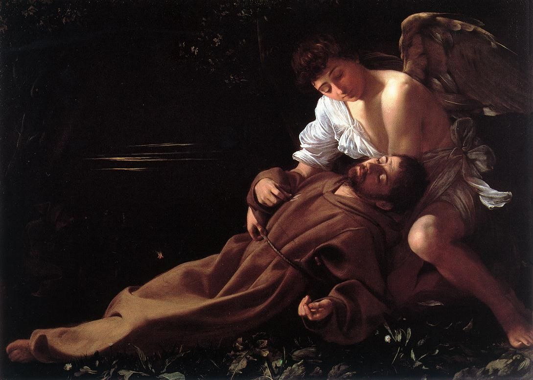 Caravaggio_San Francesco in estasi_Hartford