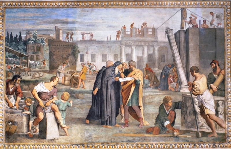 Domenichino_Affreschi Abbazia S_ Nilo_Grottaferrata