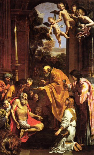 Domenichino_Ultima comunione S_Gerolamo