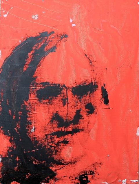 Gianni_dessì_M_S_ Vita, morte, e miracoli 2_2013_olio su cartone telato_cm 40x30