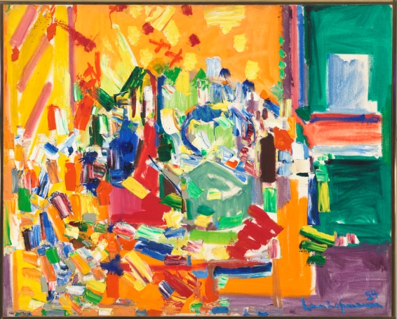 Hofmann_Hans_Orchestral Dominance in Yellow, 1954_© Hans Hofmann by SIAE 2013_© Whitney Museum of American