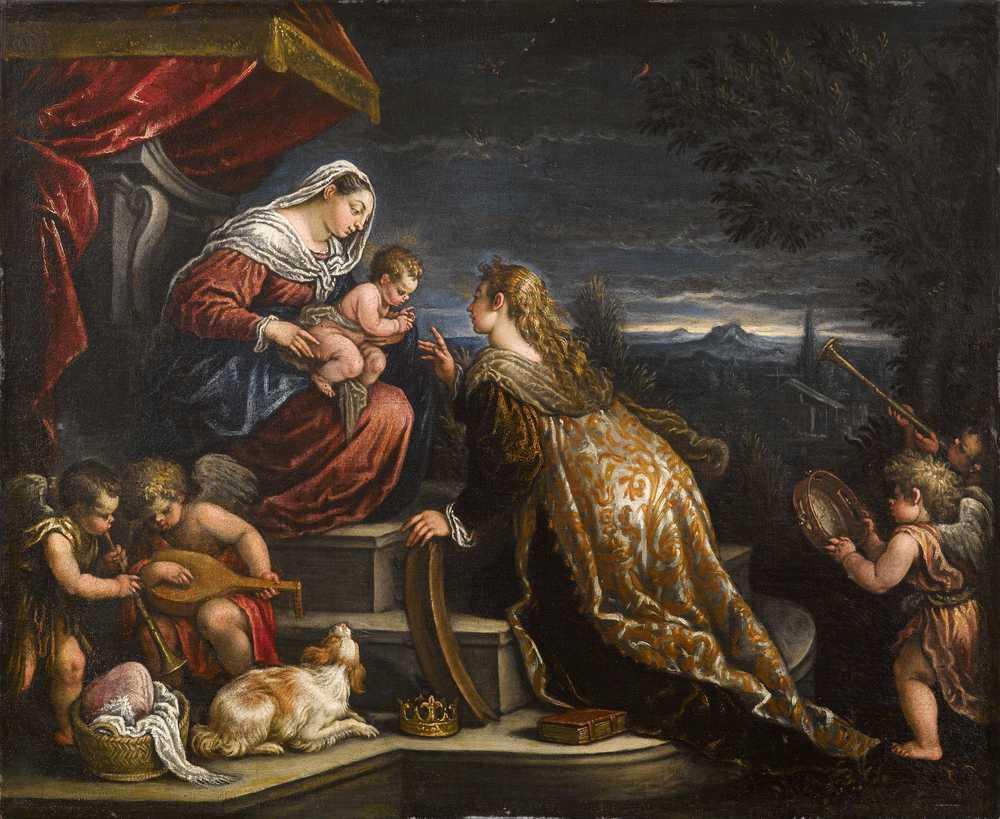 Una dinastia di pittori jacopo bassano i figli e la bott for Quadri con angeli