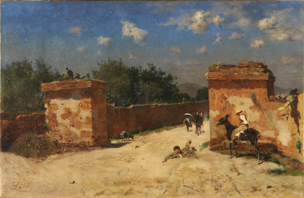 Paesaggi e pittori siciliani dell 39 ottocento for Idee artistiche di progettazione del paesaggio