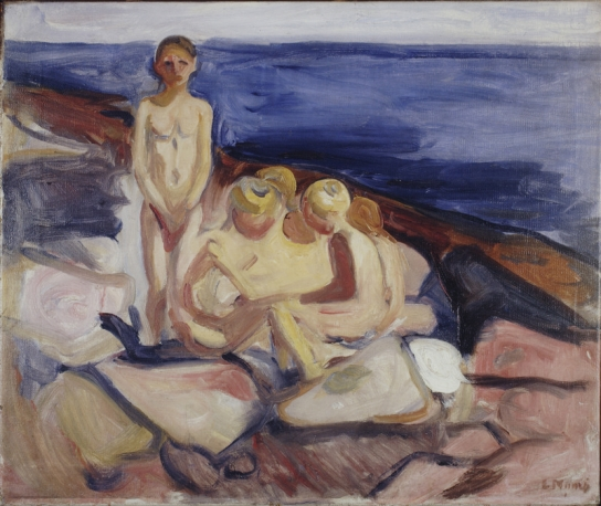 Munch Edvard_Bathing Boys_1904-1905