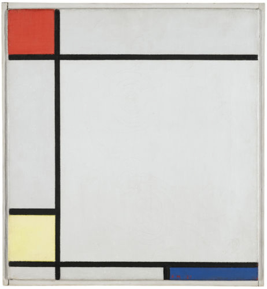 Piet Mondrian_Composition with Red Yellow and Blue_1927