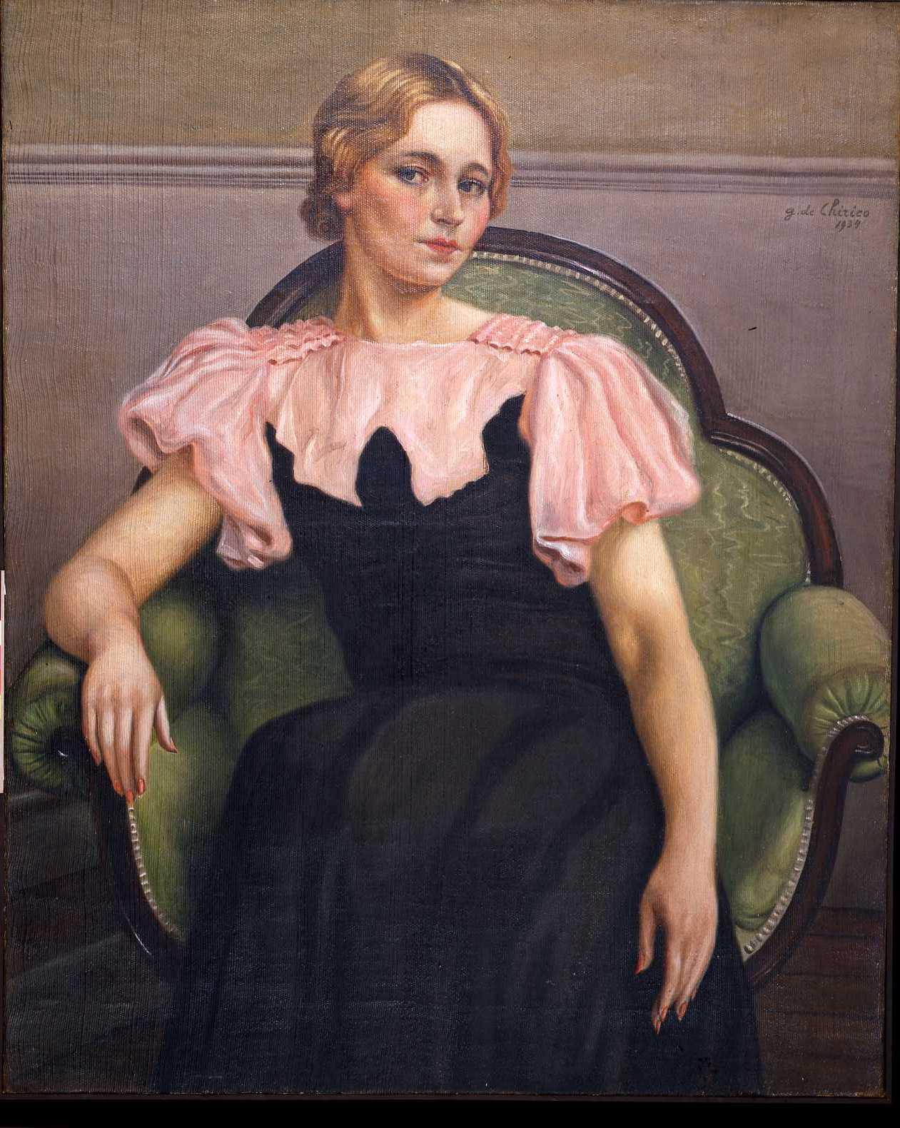 Ritratto_di_Isa_in_rosa_1934_Fondazione_Giorgio_e_Isa de_Chirico