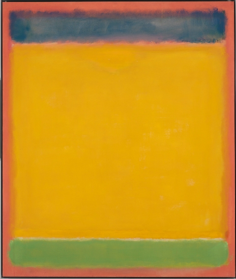 Rothko_Mark_Untitled (Blue, Yellow, Green on Red)_1954_© Whitney Museum of American Art_© Kate Rothko Prizel & Christopher Rothko by SIAE 2013