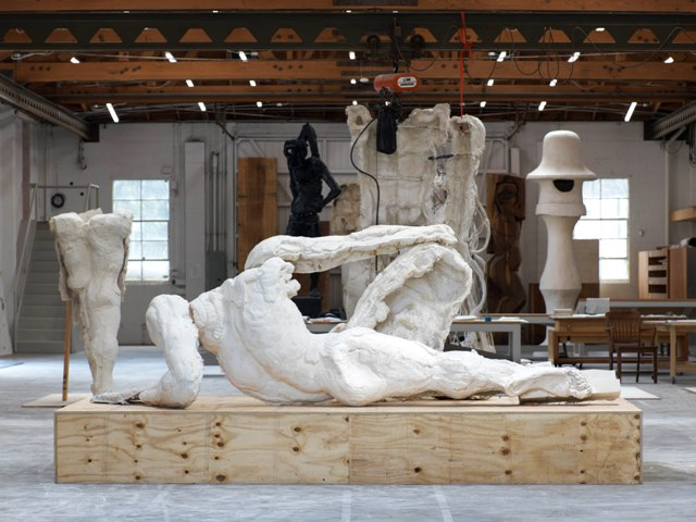 Thomas Houseago_Reclining Figure (For Rome)_2013