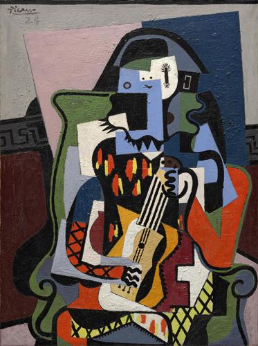 Pablo Picasso E L Arlecchino Allo Specchio La Lezione D