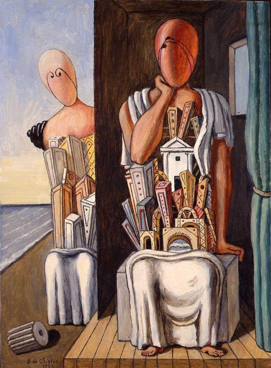 Giorgio De Chirico: le ultime due esposizioni di Ferrara e